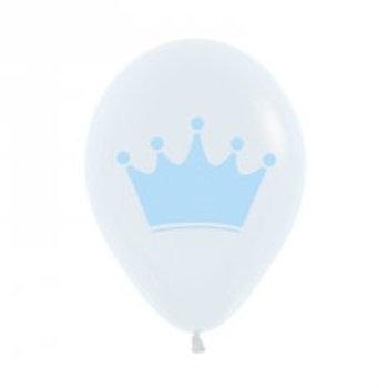 Prince or Blue Crown Balloon