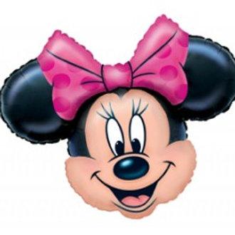 "Minnie Mouse Head Foil 27"""