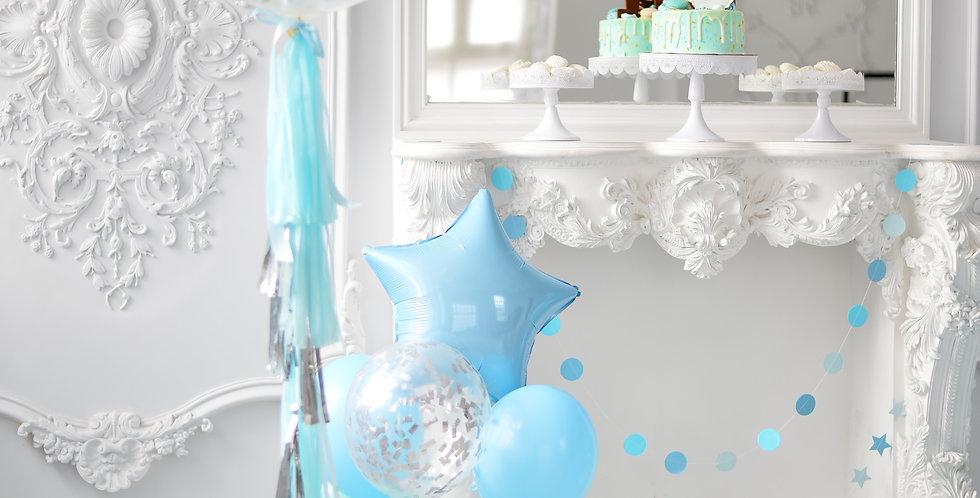 Giant Confetti Balloon Bouquet