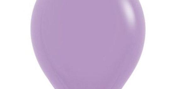 Standard Lilac Helium Balloon 30cm each