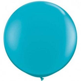 Giant 90cm Teal Balloon