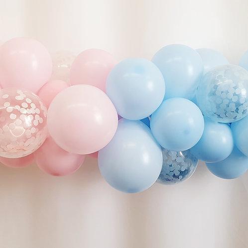 Baby Shower Mini Balloon Garland DIY kit