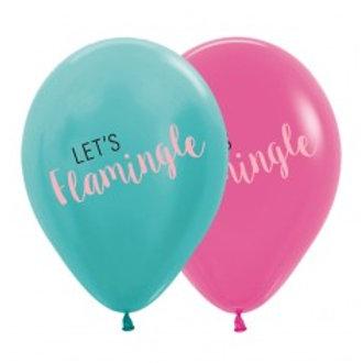 Lets Flamingle Balloons - Pkt 4