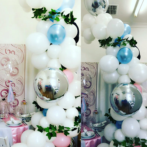 Baby Shower Balloon Garland DIY kit LARGE
