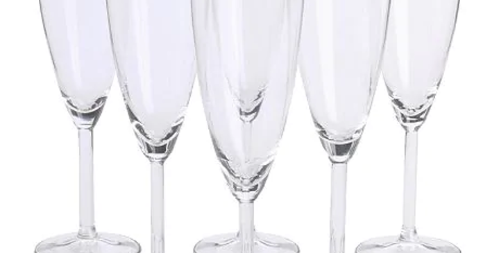 Champagne Glass Hire 210ml - Box of 10