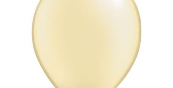 Pearl Ivory Helium Balloon 28cm each