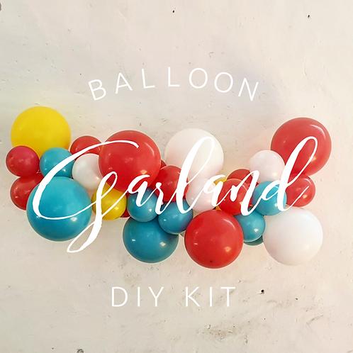 Balloon Garland DIY Kit -Carnival