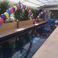 Helium Balloon Arches