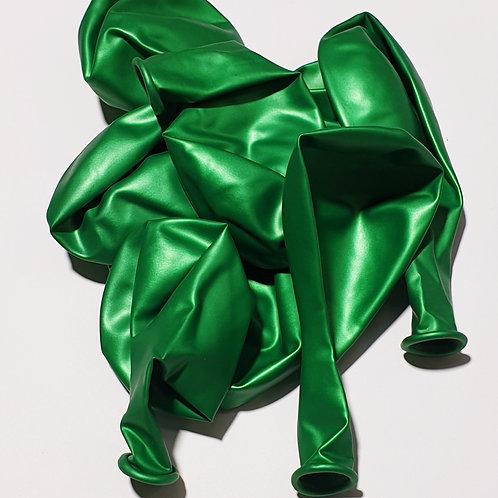 Metallic Green Balloon - 30cm - each