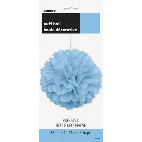 Puff Ball Blue 16 inches