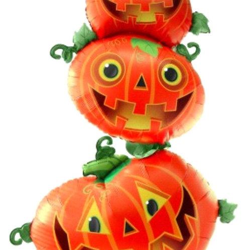 Halloween Pumpkin Stack Balloon