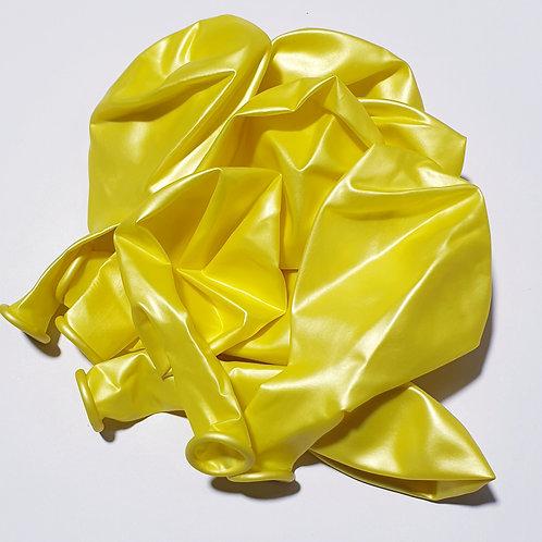 Pearl Yellow Balloon - 30cm - each