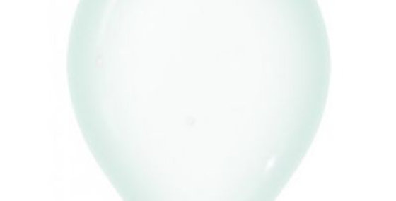 Crystal Green Helium Balloon 30cm each
