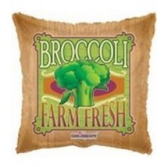 "Broccoli Foil Balloon - 18"""