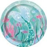 """Mermaid Lunch Plate 7"""""""