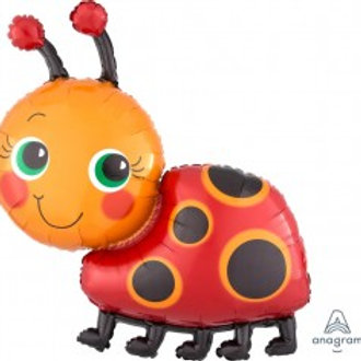 Lady Bird / Bug Supershape Foil Balloon