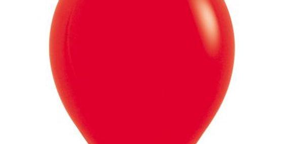 Standard Red Helium Balloon 30cm each