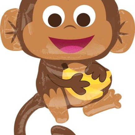 Cheeky Monkey Supershape Balloon