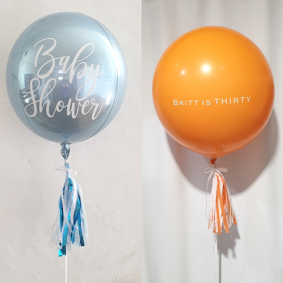 Custom Orbz Balloon