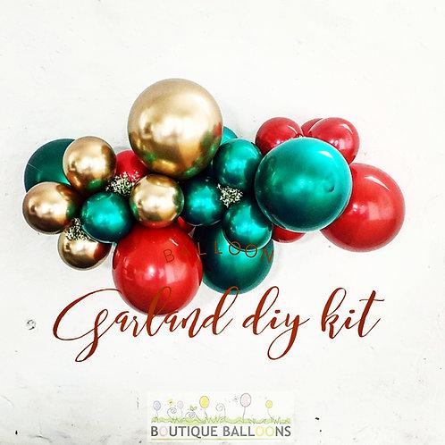 Balloon Garland DIY Kit - Christmas