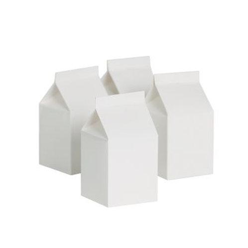 Paper Milk Box White