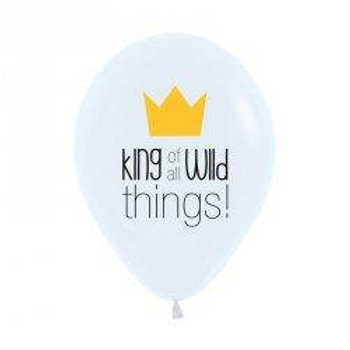 King of all Wild things Balloon Pkt of 5