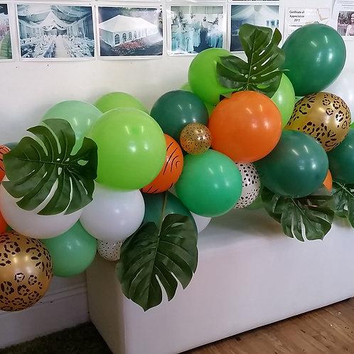 Jungle Theme Organic Garland DIY Kit LARGE