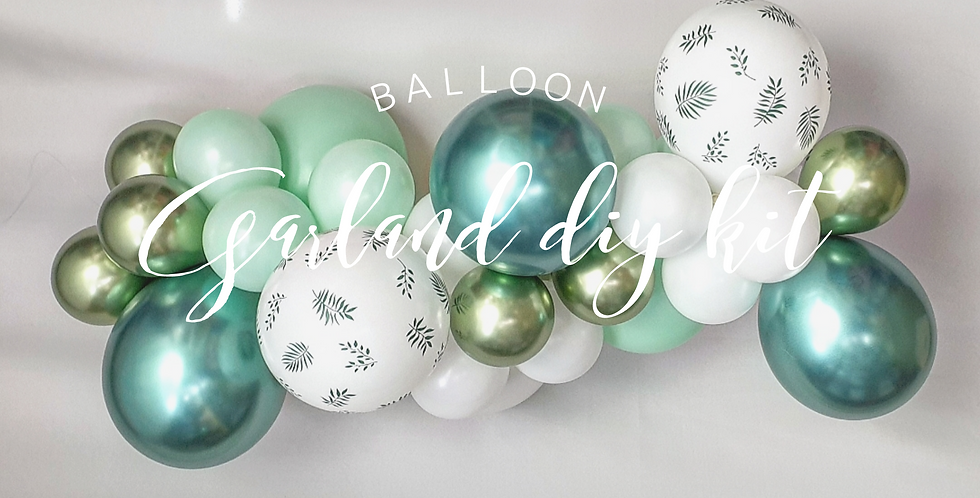 Balloon Garland DIY Kit - Jungle