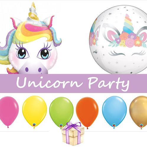 Unicorn Party Balloons