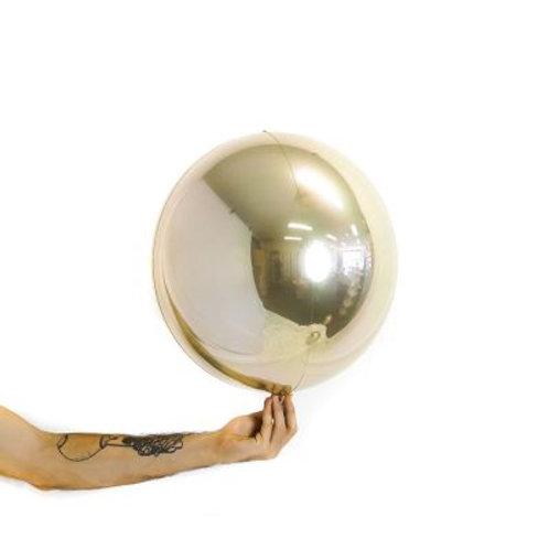 Balloon Ball White Gold 35cm