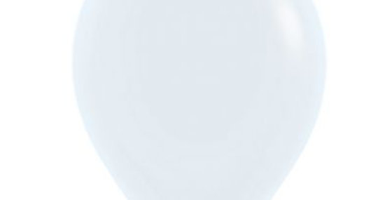 Standard White Helium Balloon 30cm each