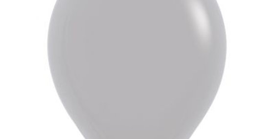 Standard Grey Helium Balloon 30cm each