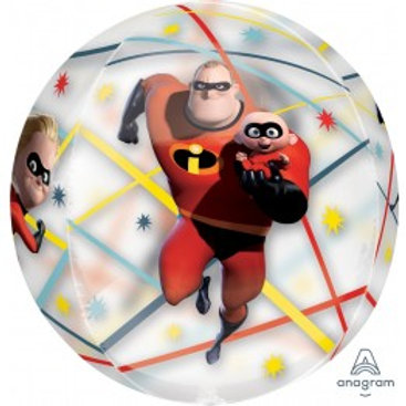 "Incredibles Orbz Foil Balloon - Size 16"""