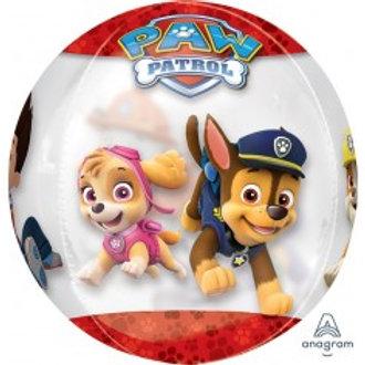 """Paw Patrol Orbz Foil Balloon  - Size 16"""""""