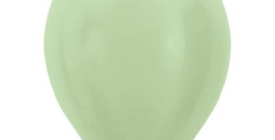 Pearl Green Helium Balloon 30cm each