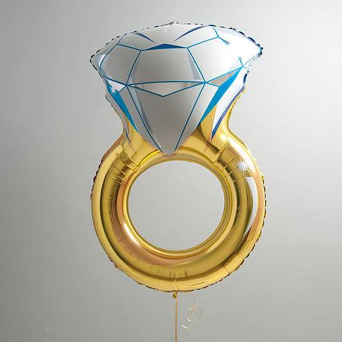 Diamond Ring Foil - Wedding or Engagement 103cm