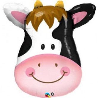 """Cow Head Supershape Foil - 32"""""""