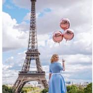 Rose Gold Orbz Balloons