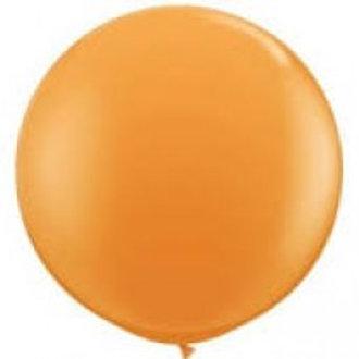 Giant 90cm Orange Balloon