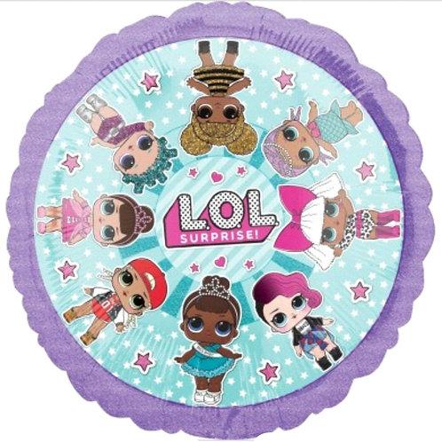 "LOL Surprise Doll Foil Balloon - 18"""