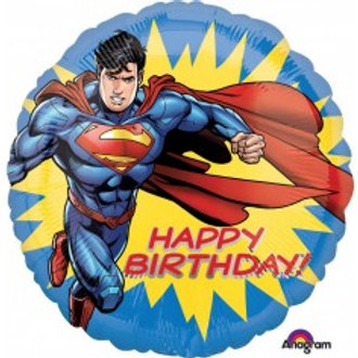 "Superman Birthday Foil - 18"""