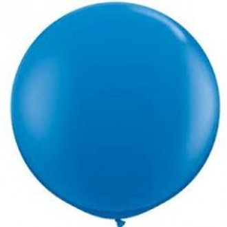 Giant 90cm Dark Blue Balloon