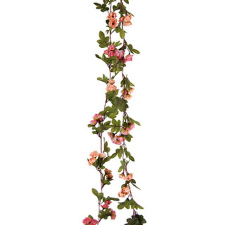 Rose Bud Garland Faux - 230cmL
