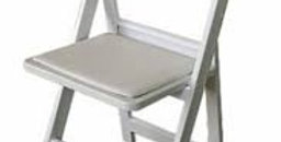 White Americana Chair- QTY 1