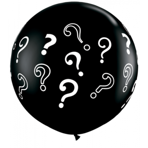 Question Mark Giant Gender Reveal Balloon