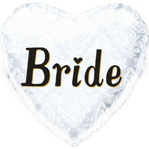 Bride Heart Shape Foil 45cm