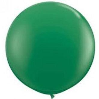 Giant 90cm Dark Green Balloon
