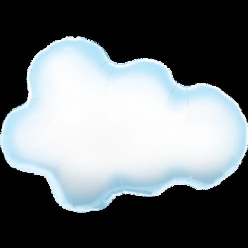 Puffy Cloud Foil Balloon 30 inches