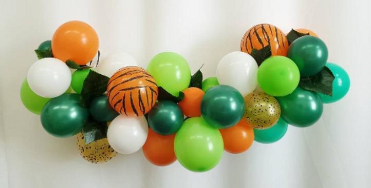 Balloon Garland DIY Kit - Mini Jungle