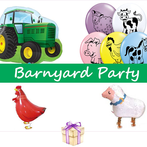 Barnyard Party Balloons